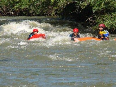 Hidrospeed en Río Ebro o Deva