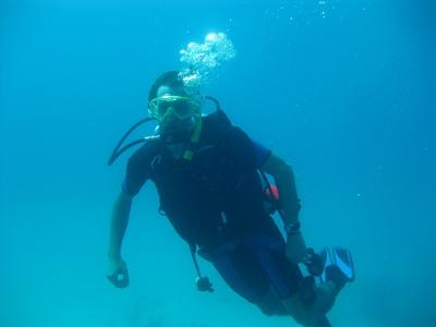 马贝拉的PADI潜水员