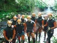 Canyoning in Viaña River, Easy Trail