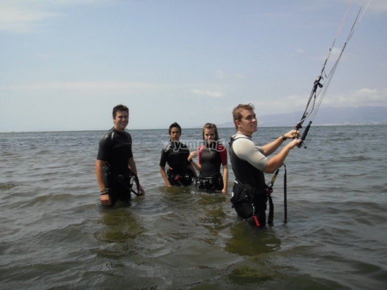 Group of kiters