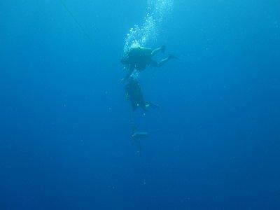马贝拉的PADI救援潜水员
