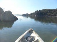 Desde el kayak