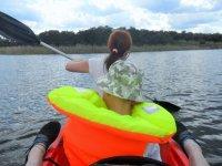Pescando desde kayak biplaza