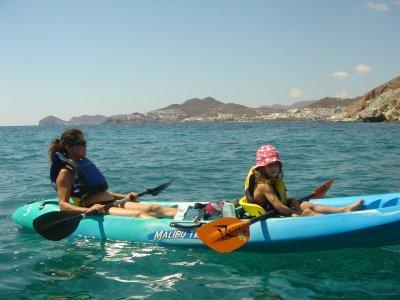 Ruta en Kayak y snorkel en Cabo de Gata (Niños)