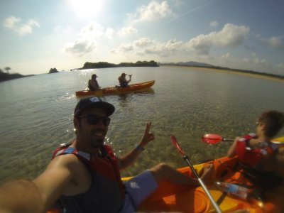 Kayaking and snorkeling in Noja, 2 hours