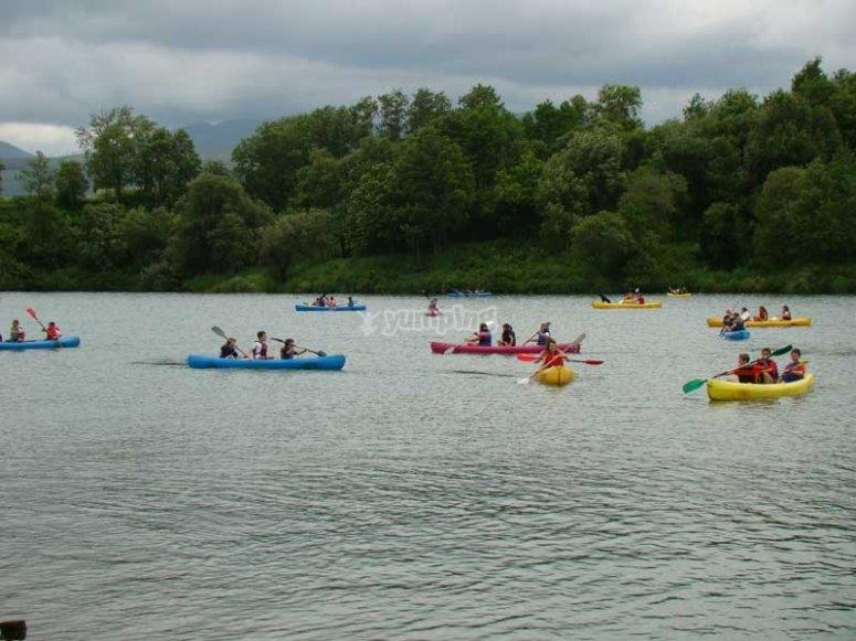 canoa rio pas