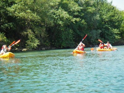 3-hour canoe ride in Deva river