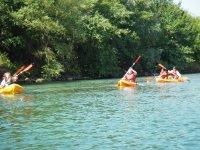 route canoa cantabria