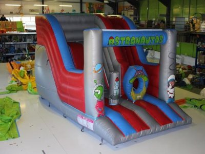 Large inflatable slide rental in Seville