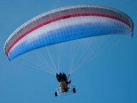Bautismo de vuelo en paratrike en Manilva