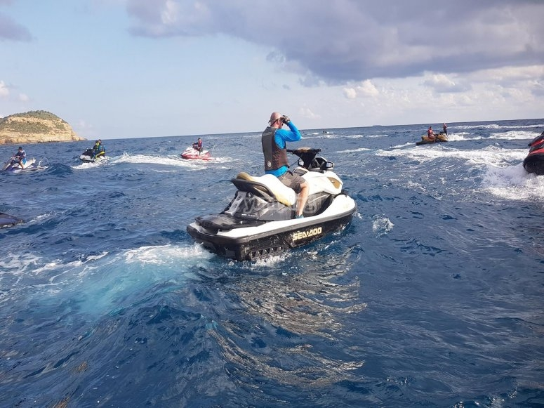Ruta en jetski guiada en Dénia