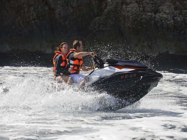Ruta en moto acuática en Jávea