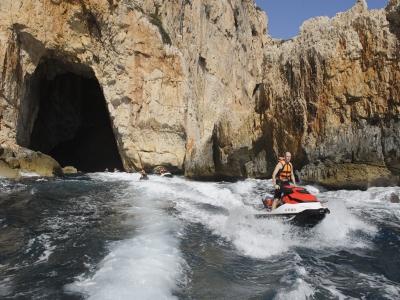 Excursión moto acuática a Cabo de San Antonio 1 h