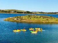 Descubriendo lugares en canoa