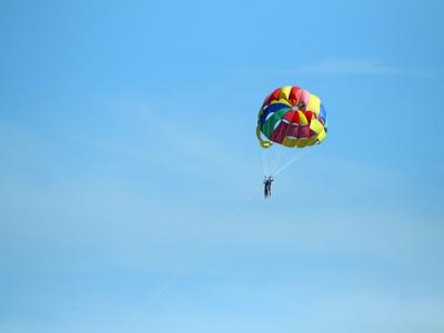 马贝拉的个人帆伞运动,15分钟