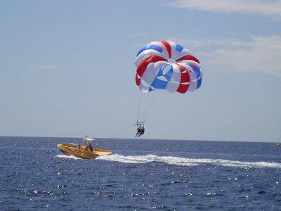 马贝拉的双人滑翔伞,15分钟