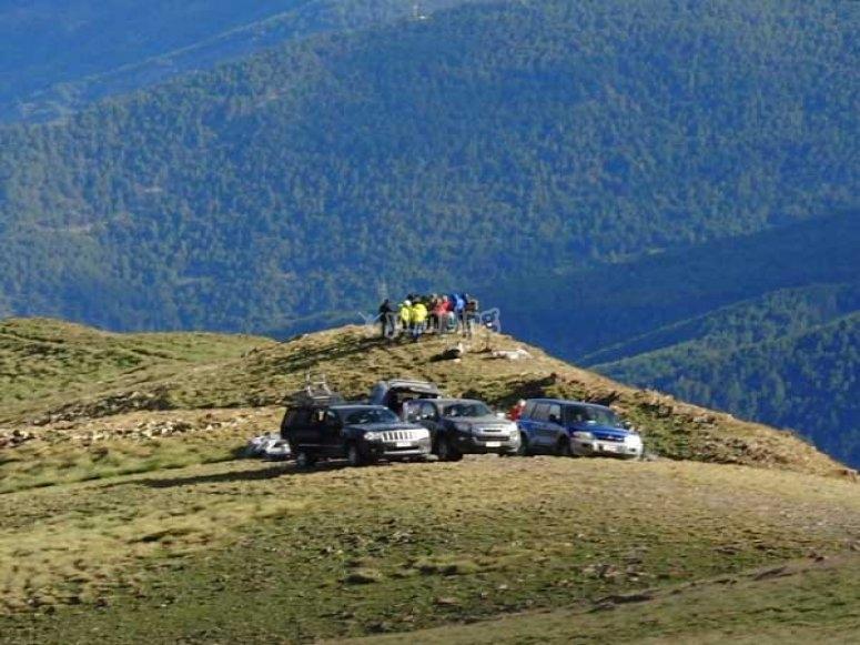 Ruta en todoterreno por Andorra