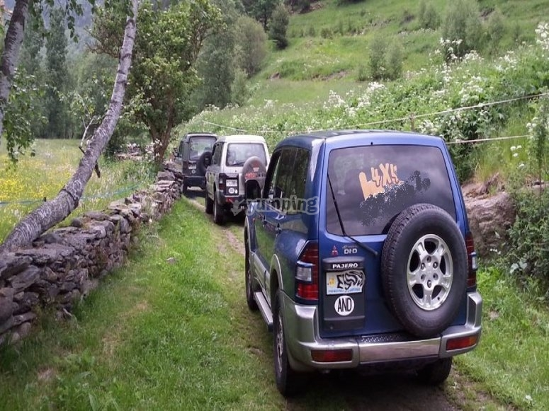 Ruta 4x4 por Andorra