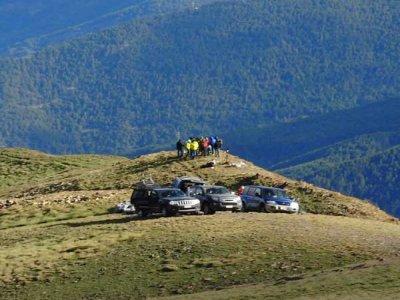 Excursión en 4x4 y descenso de barranco de Berros
