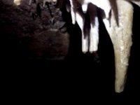 We found stalagmites