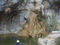 Rapel in the ravine