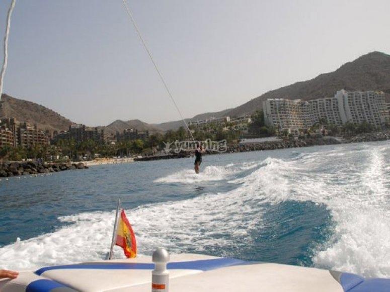 wakeboarding en canarias