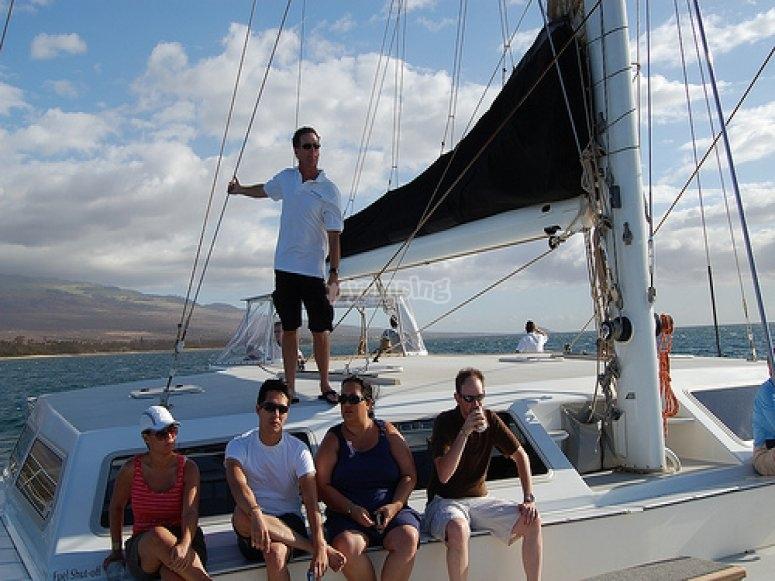 paseo en barco altea
