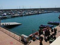 Puerto deportivo Juan Montiel buceo