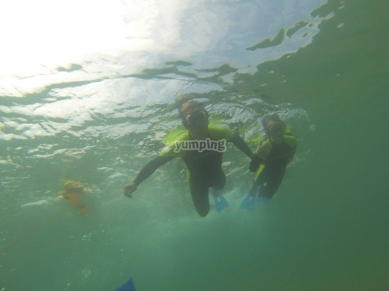 snorkel cantabria