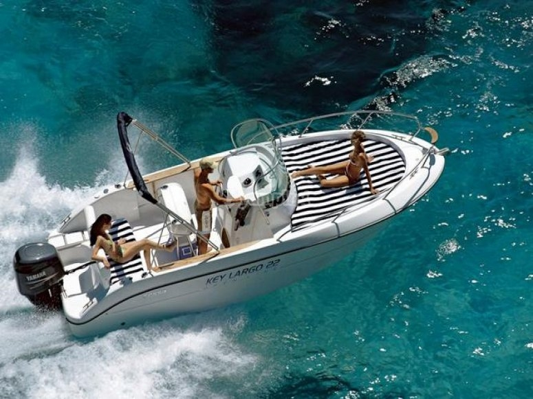 Partenza in barca
