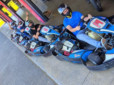 Carrera en grupo kart 390cc 30 minutos Olaberria