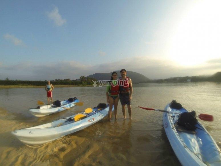 canoa playa de ris