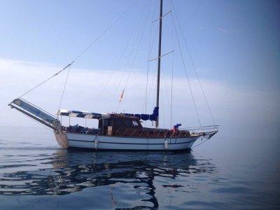 Paseo en goleta grupos 15 personas Marbella 4h
