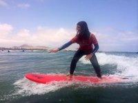 Curso de surf de 1 día, 4 horas, en Lanzarote