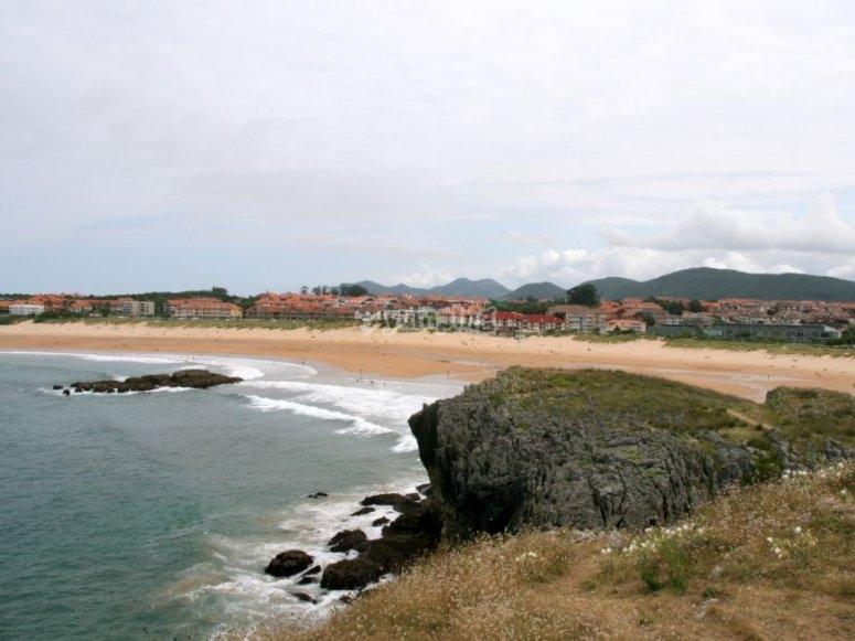 Playa de Ris en Cantabria
