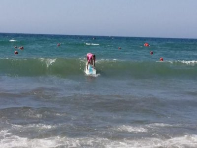 Surfing Baptism in Águilas - 2 h