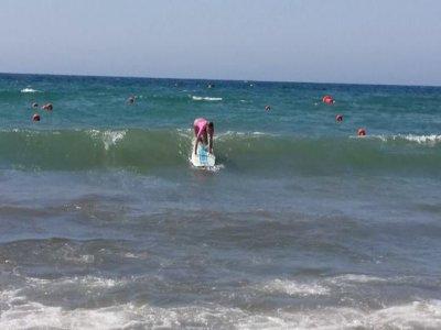 在Águilas冲浪洗礼,2小时