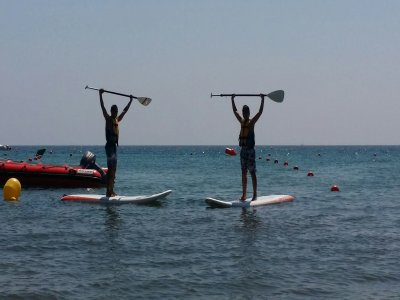 SUP gear rental in Águilas
