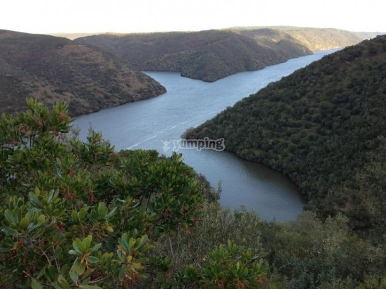 Views of the Tagus River Natural Park