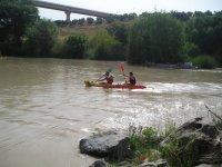 独木舟乘坐河流或水库,1天,塞维利亚