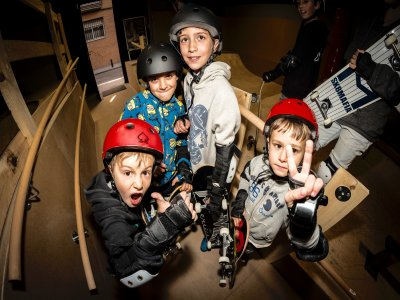 50Project  Indoor Skatepark Madrid Parques Infantiles