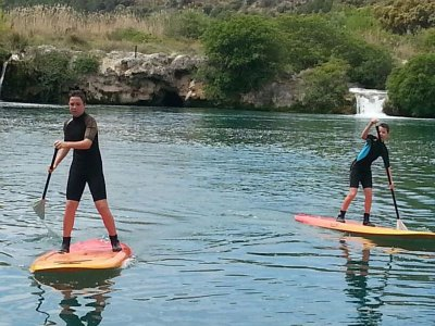 Ruta en tabla de Paddlesurf Lagunas de Ruidera