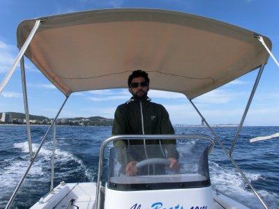Alquiler barco sin licencia en Platja d'Aro