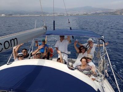 Paseo en velero desde Motril o Almuñécar 8 horas