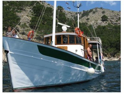 Excursion barco VIP en Port de Pollença 4 horas