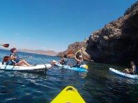 Kayak en cala cerrada La Azohía con snorkel, 3-4h