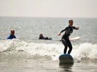 Clase de surf de 3 horas, zona sur de Gran Canaria