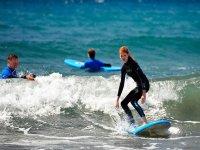 Clase de surf zona norte y este de Gran Canaria 3h