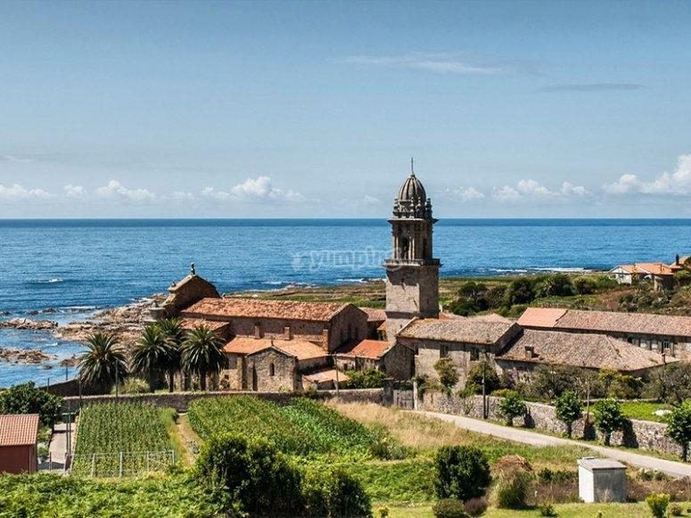 Vistas de Santa María de Oia