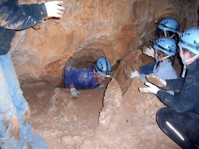 与洞穴学包装